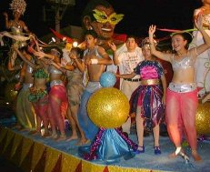 Carnival in Cozumel - � David Hammer.