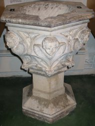 Font where Joseph Ratzinger was baptised.