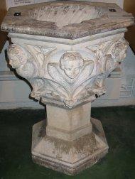 Font where Joseph Ratzinger was baptised.
