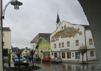 Markt Platz -- Marktl Am Inn.