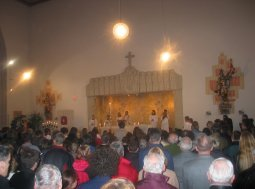 First Mass in Marktl, For Benedict XVI.