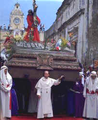Good Friday, Antigua. Copyright Michel Guntern