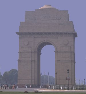 India Gate, New Delhi - Copyright TravelNotes.org